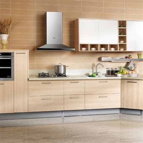 Online Kitchen Cabinet op14 048 modern customized pvc kitchen cabinet