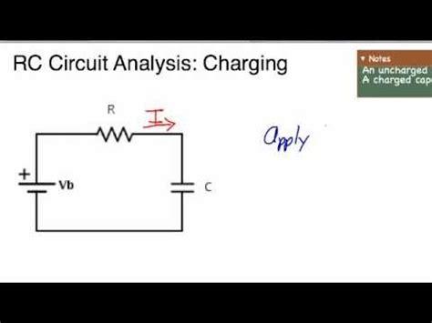 charging capacitor in rc circuit ap physics c rc circuit charging