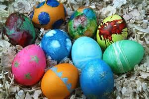 easter egg dye dyed easter eggs recipe dishmaps