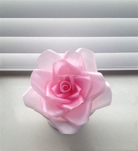 How To Make Wafer Paper Flowers - wafer paper flowers cakecentral