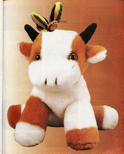 Moldws De Peluches De Vacas | molde vaca de peluche imagui