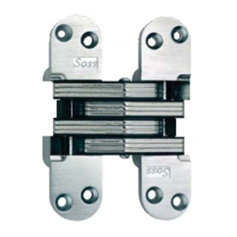 soss 218 invisible hinge satin chrome 218us26d