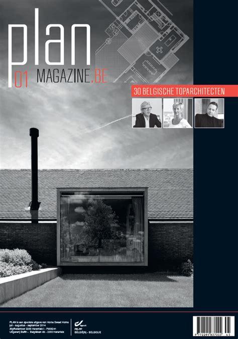 plan magazine plan magazine tijdschrift gericht naar architecten