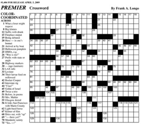 usa today crossword uk premier sunday crossword king features syndicate