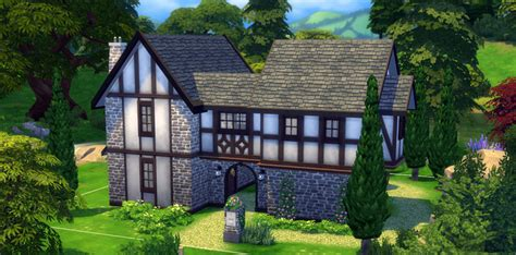 Create A House Floor Plan Online Free by How To Build A Tudor House In The Sims 4 Sims Online