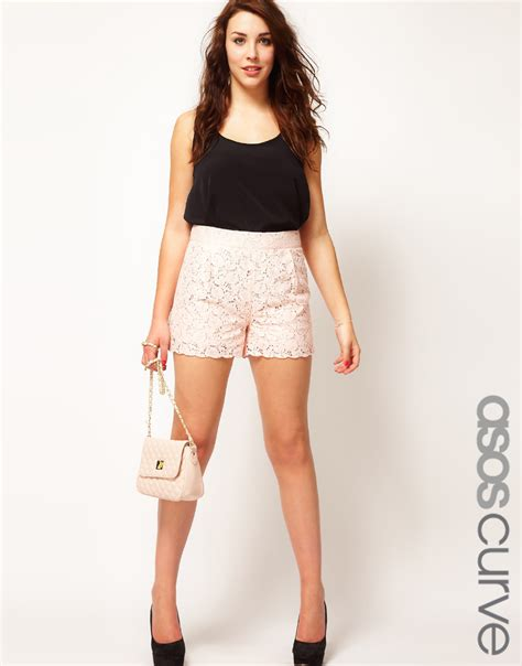 7 Things On The Rise by Image Gallery Lace Trend Shorts