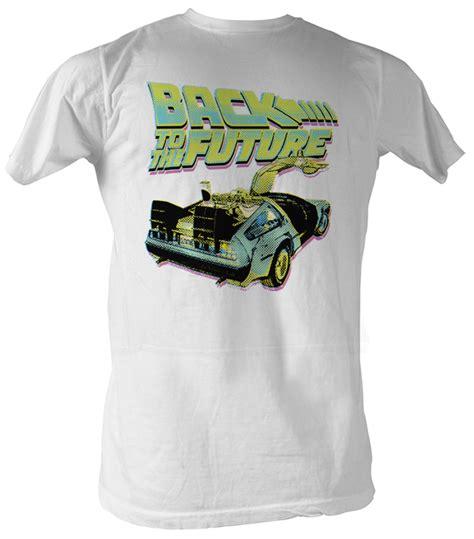 Tees Kaos T Shirt Future back to the future t shirt btf neon white