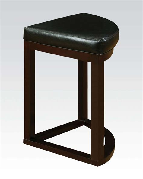 Espresso Stool by Espresso Finish Counter Height Stool Patia By Acme Ac70362