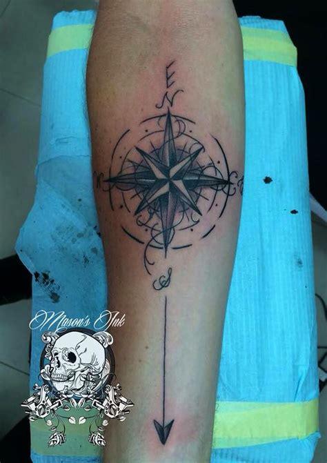 star tattoo kuta compass tattoo done at mason s ink kuta bali indonesia www