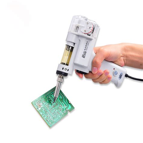 Sale Solder Cosco 40 W 220v gj s 998p 220v 100w electric vacuum solder sucker desoldering gun soldering iron