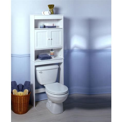 nice bathroom space saver over toilet cabinet design with