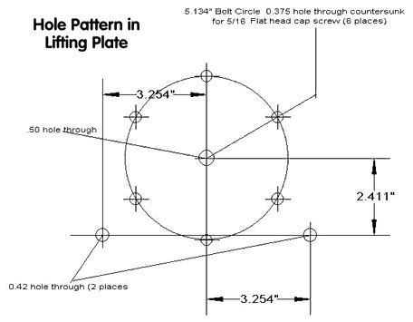 hole pattern drawing scope transporter by dave dixon