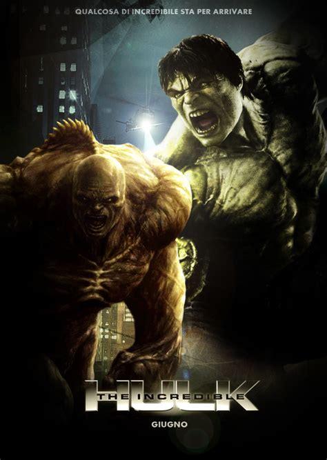 membuat poster film hulk poster del film l incredibile hulk screenweek