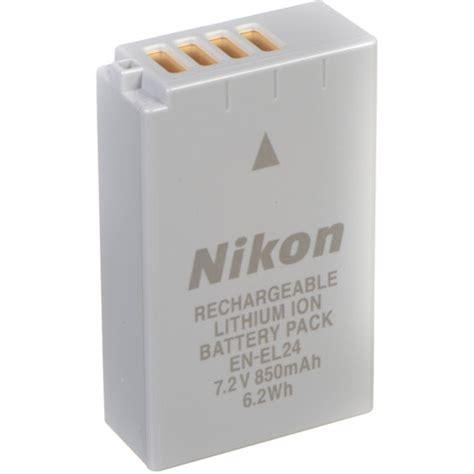 nikon en el24 rechargeable lithium ion battery pack 3790 b h