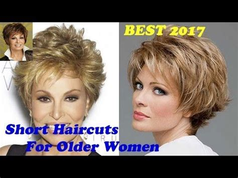 short haircuts for older women 2017 2018 | ideas and