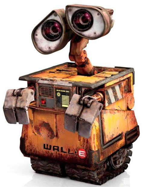 wall e robot watches robots