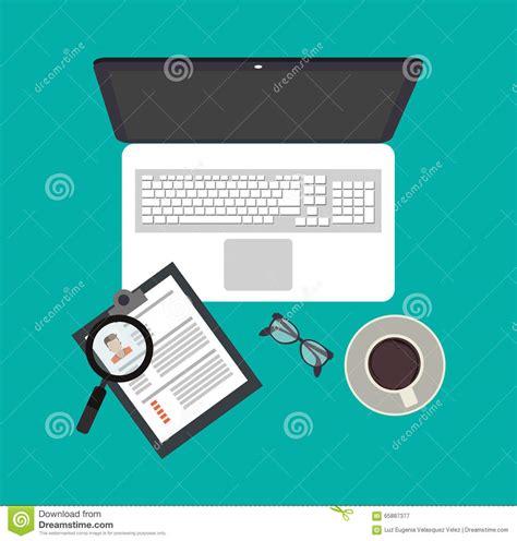 design concept document human resources design stock vector image 65887377