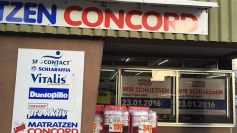 Matratzen Concord by Matratzen Concord Am Berliner Platz In Osnabr 252 Ck Schlie 223 T