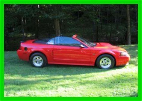 manual cars for sale 2001 ford mustang on board diagnostic system purchase used 2001 mustang gt 4 6l v8 16v manual rwd convertible red cd in washington depot