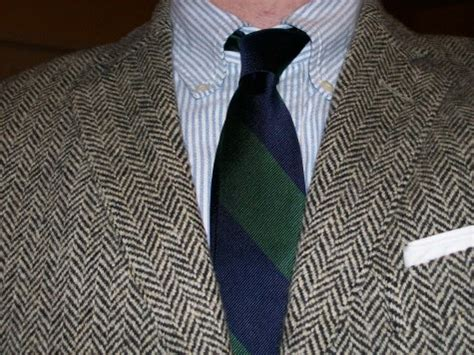 best ties for button down collar dress shirts