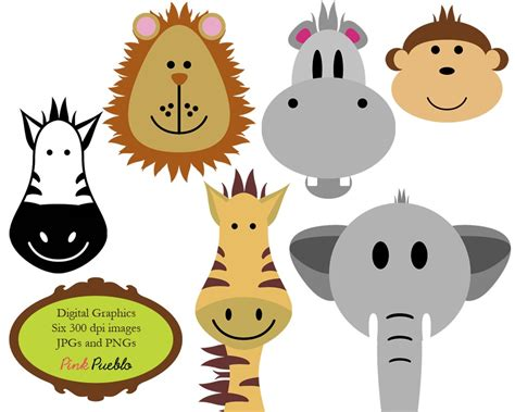 free animal clipart zoo animals clipart free large images
