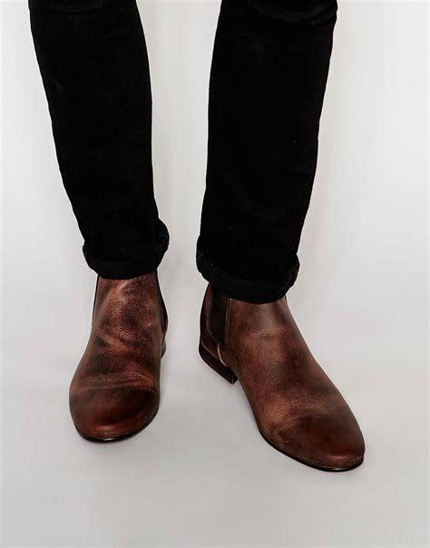 botines de cuero hombre botas de cuero hombre moda