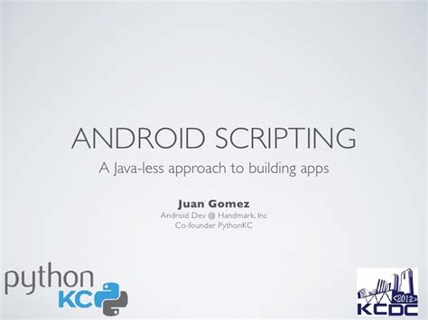 android scripting
