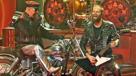 rob set list quality footage of judas priest s concert in