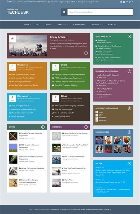 drupal themes wiki techdesk responsive knowledge base faq theme by zerge