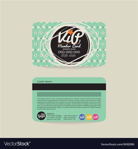 Rohan Cards Templates by Membership Card Design Image Collection Simple