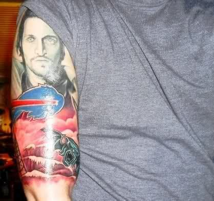 buffalo bills tattoo 18 best buffalo bills tattoos images on