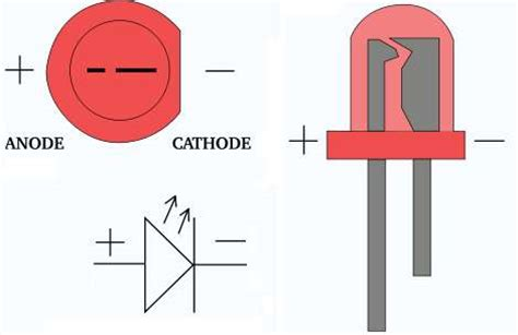 led anode or cathode to ground pcb how to find polarity of terminals of a circuit using meter electrical engineering stack