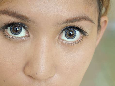 colored for how to choose blue colored contacts 4 steps with pictures