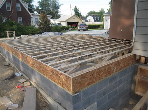 sunroom part 3 floor trusses or how to replace a floor
