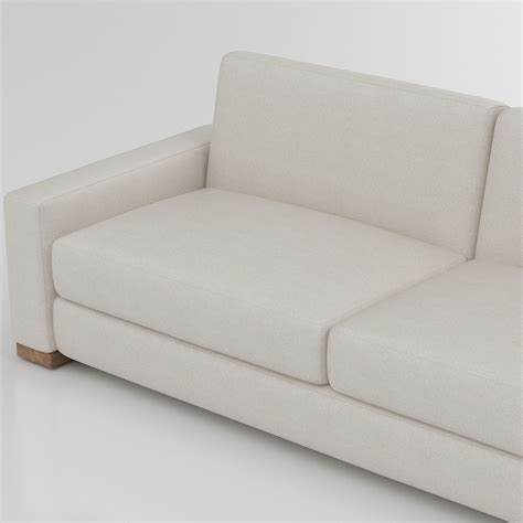 Maxwell Restoration Hardware Sofa by 3d Restoration Hardware Maxwell Sofa High Quality 3d Models