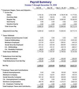 quickbooks payroll payroll reports