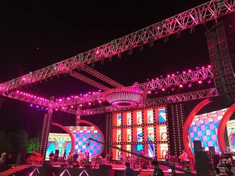 retro themed events bombay velvet themed sangeet by prasang sees jail inspired
