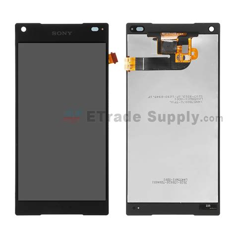 sony xperia z5 compact lcd screen and digitizer assembly black etrade supply