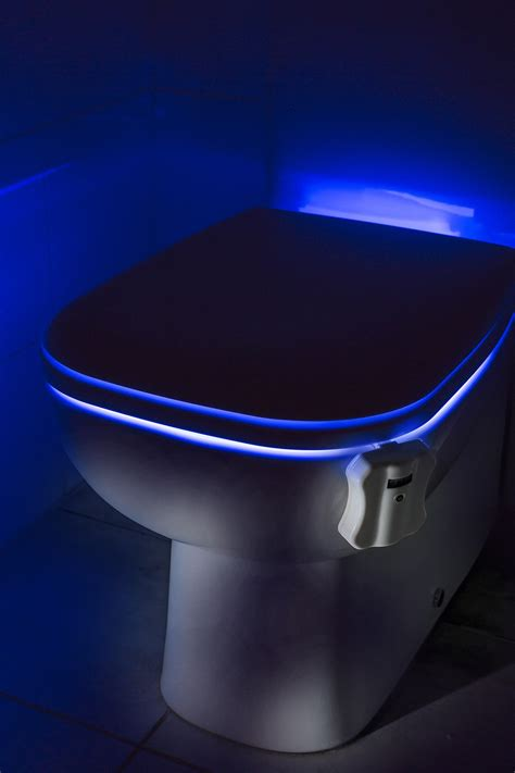 Lighted Toilet Bowl by Auraglow Led Motion Activated Toilet Bowl Light
