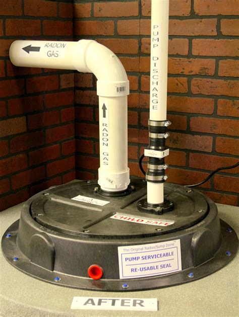 radon gas basement radon gas mitigation system with our plumbstar usa sump check valve diy home projects