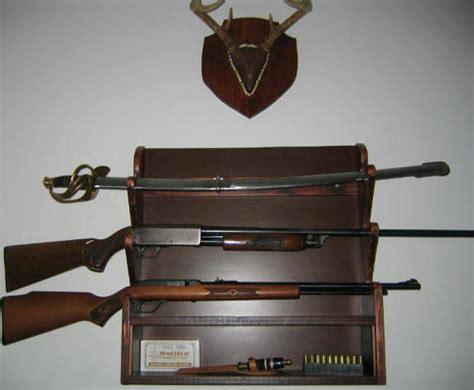Rack A Gun by Free Gun Rack Plans How To Build A Gun Rack