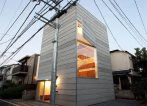 Best Small Home Architects Tokyo S Small House Is A Narrow Tower That S Only