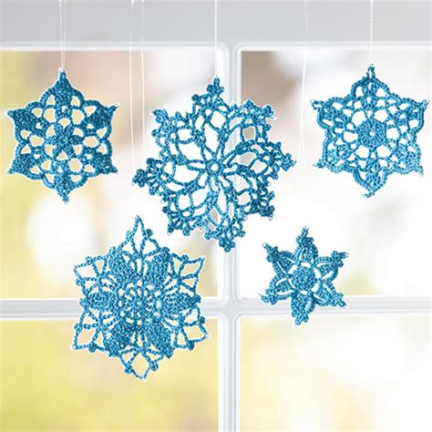 snowflake crafts crochet snowflake crafts pictures photos and images for