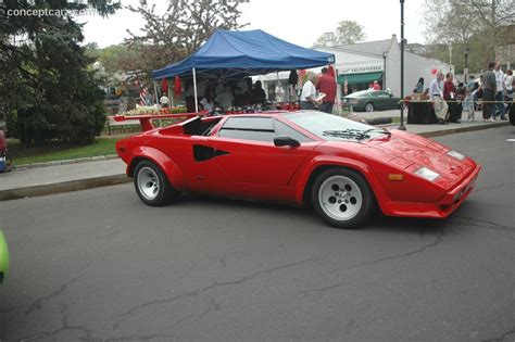 1985 lamborghini countach at the scarsdale concours new york
