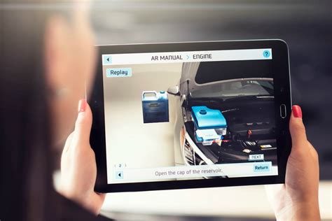 reality apps android hyundai s augmented reality app turns everyone into a mechanic android authority