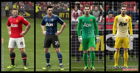 bagas31 jersey pes 2013 pes 2013 manchester united 2013 2014 by ayiep27 on deviantart
