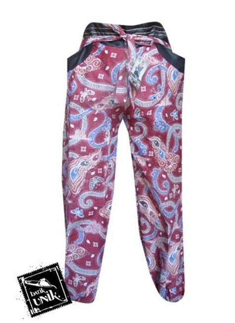 Bawahan Celana Panjang Wanita Murah celana batik wanita panjang motif batik modern bawahan