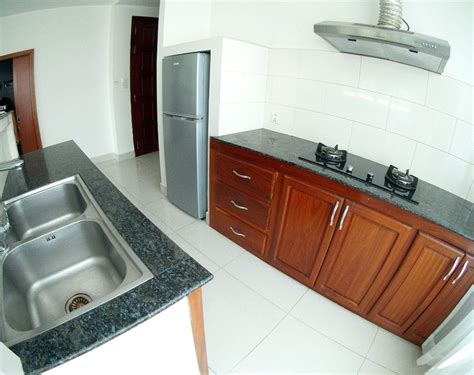 Kitchen Phnom Penh by Large 1 Bedroom 100sqm Near Russian Market Pp Real Estate