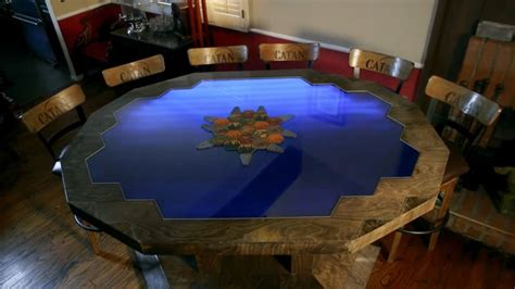 custom gaming table this custom settlers of catan table is a work of