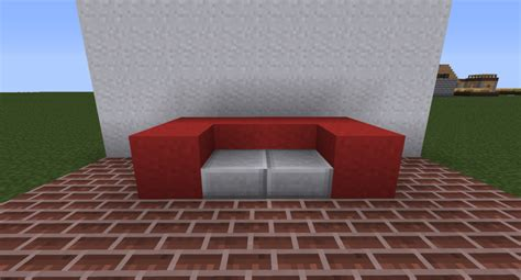 how do you make a couch on minecraft modern furniture tutorial contest minecraft blog